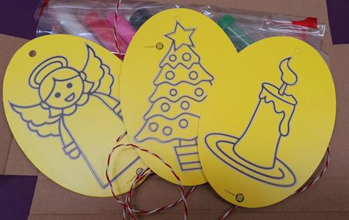 Christmas Oval 3 Pack - Pack 2 - Free Postage